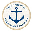 West Michigan Underwater Preserve logo